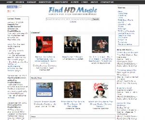 ハイレゾ音源検索 Find HD Musicを使おう