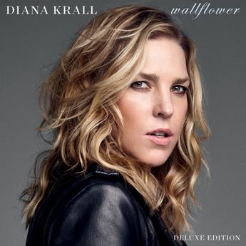 Diana KrallのニューアルバムWallflowerが配信