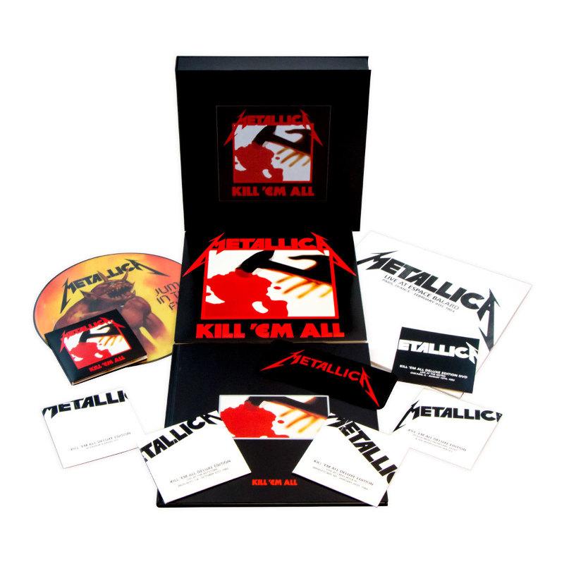 メタリカのKill'em allとRide The Lightningのリマスター版がオフィシャルサイト発売開始
